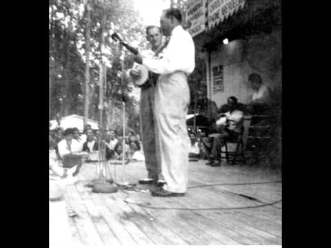 Don Reno and Earl Scruggs playing together 1955