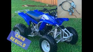 Yamaha blaster carburetor rebuild!