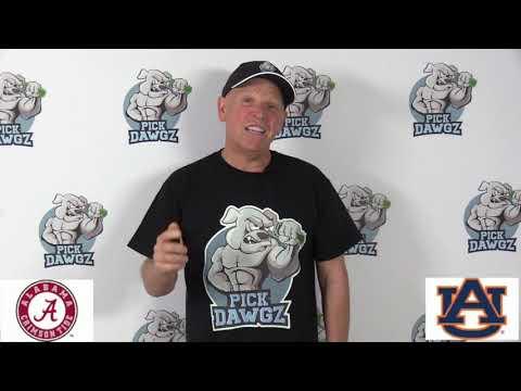 Auburn vs Alabama 11/30/19 Free College Football Pick and Prediction Week 14 CFB Tips