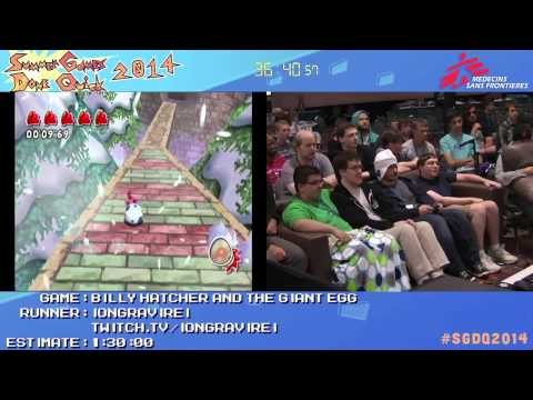 Summer Games Done Quick 2014 - Part 85 - Billy Hatcher And The Giant Egg