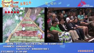 Billy Hatcher And The Giant Egg by iongravirei in 1:13:17 - SGDQ2014 - Part 85