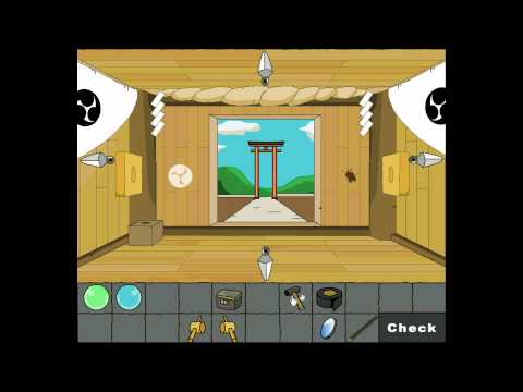 Aztec Games - Jinja - The Shinto Shrine Walkthrough