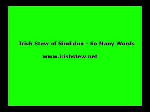 Irish Stew of Sindidun-  Back Home in Derry