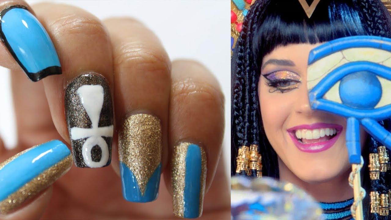 Katy Perry - Dark Horse Nails | Dee2102 - YouTube