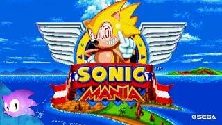 Sonic Mania American Sonic Fleetway Super Sonic Mod 8