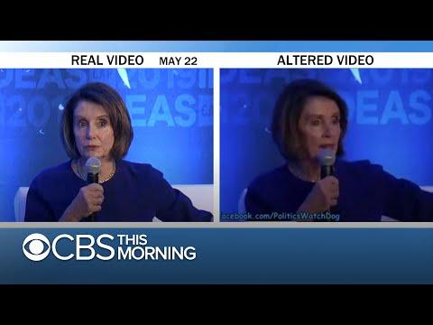 Doctored Pelosi video highlights the threat of deepfake tech