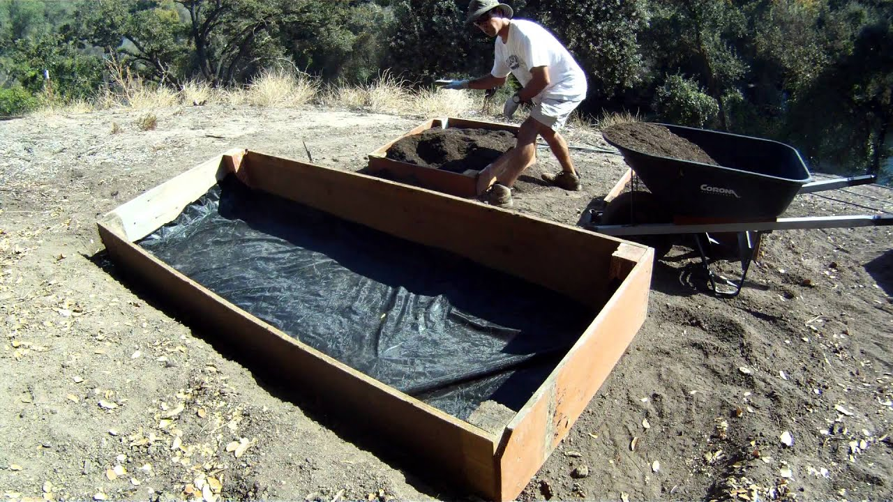 How To Build Raised Garden Boxes YouTube