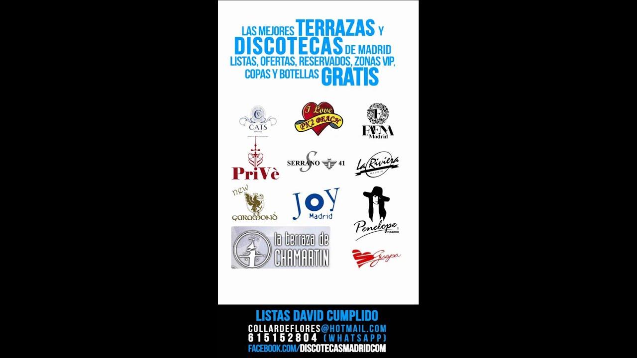 Discotecas Y Terrazas Gratis En Madrid 615152804