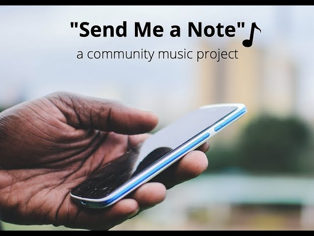 Our Community Music Project is Published!