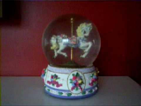 Carousel Horse Snow Globe - Show Me Your Snowglobe - Post A Video Response