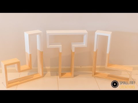 DIY | Marque Wooden Letters