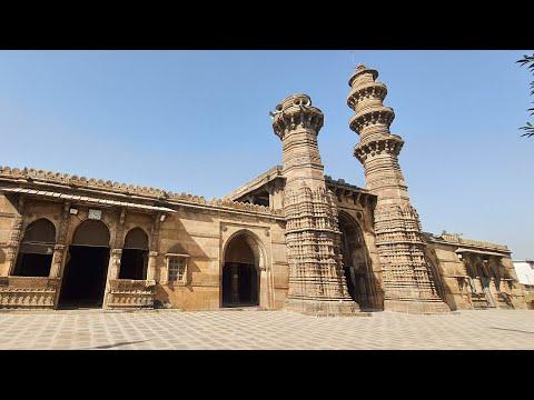 Julta Minara Mosque (Bibiji Masjid) Ahmedabad Gujarat Heritage Stone Mosque Shahi Pattharwali Masjid