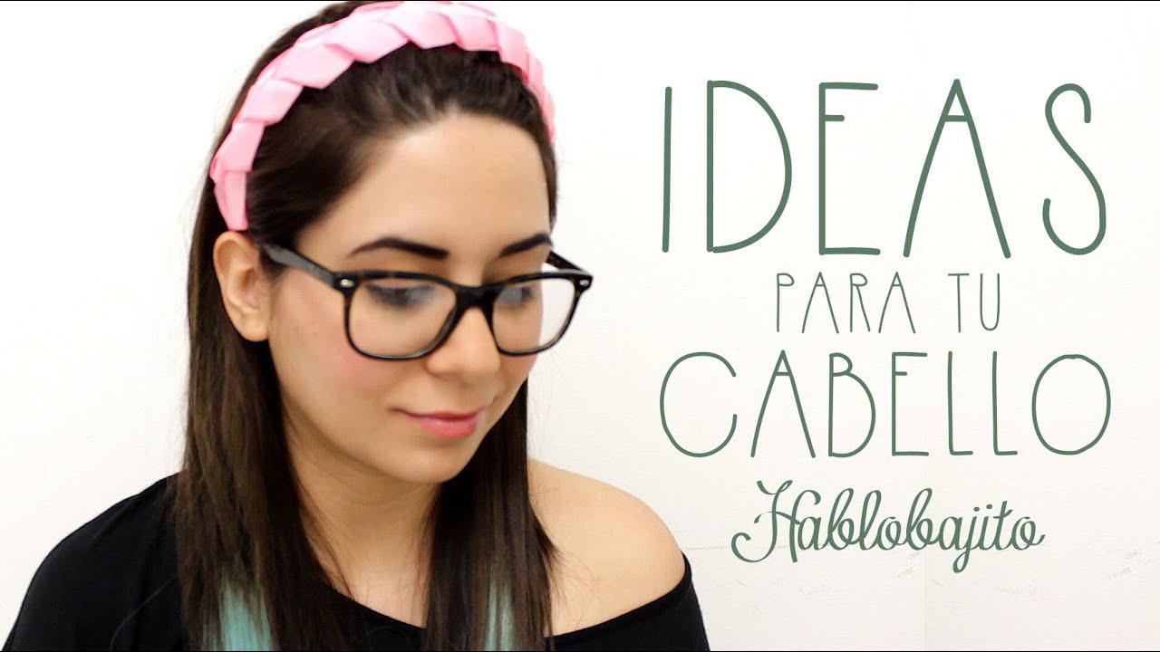 cmo hacer una diadema con listn accesorios para el cabello hablobajito youtube