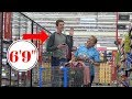 """Tall Guy (6'9"""") Asks Short People About Height 2 - Prank"""