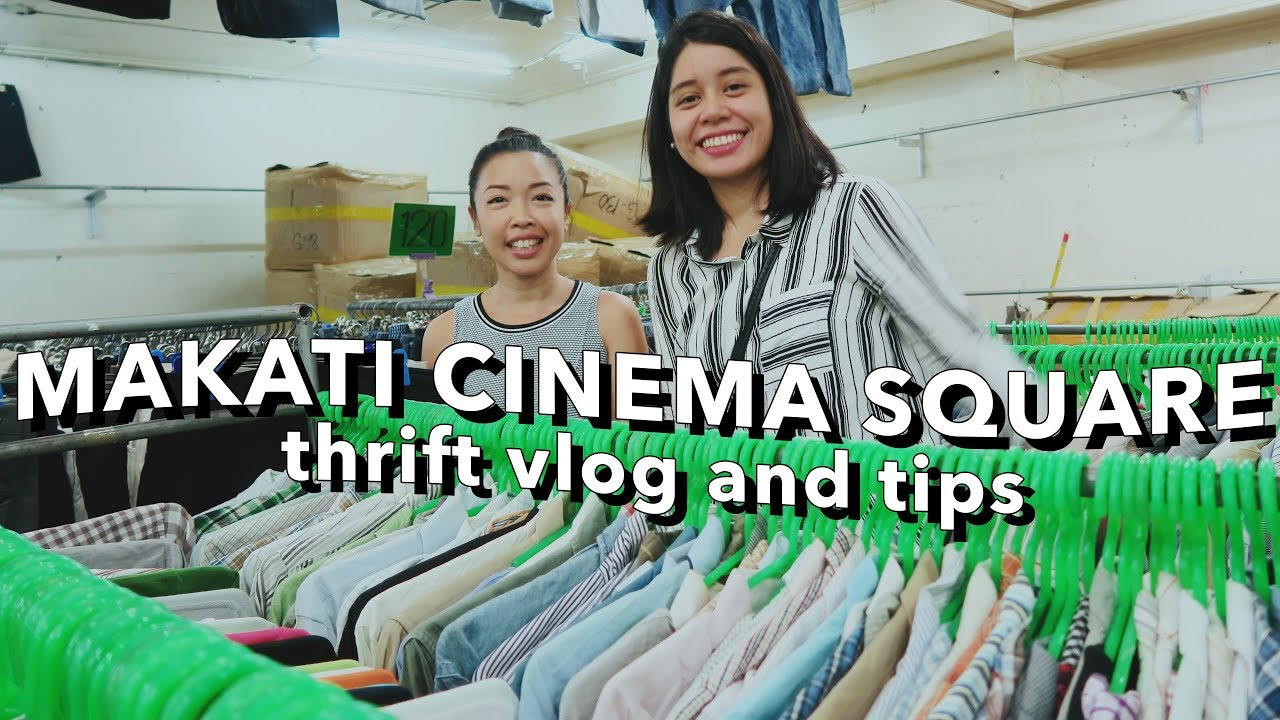 THRIFT WITH ME: MAKATI CINEMA SQUARE UKAY-UKAY (Philippines)