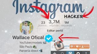 Instagram hacker 100 mil seguidores