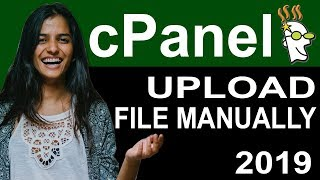 Learn to upload files in godaddy cPanel manually 2019