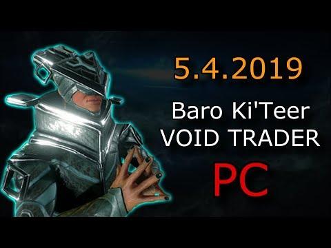 Warframe - Baro Ki'Teer (PC) - Primed Animal Instinct & Prisma Companion Display thumbnail