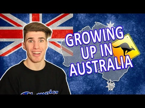 GROWING UP IN AUSTRALIA!