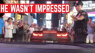 POLICE SHUT DOWN Times Square For Our Supercars - Corsa America Rally