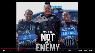 BACK THE BLUE Good Cop Bad Cop It's Not About Race