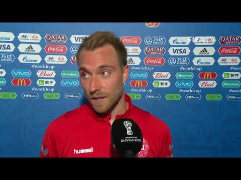 Christian ERIKSEN (DENMARK) - Post Match Interview - MATCH 6