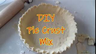 DIY Pie Crust Mix