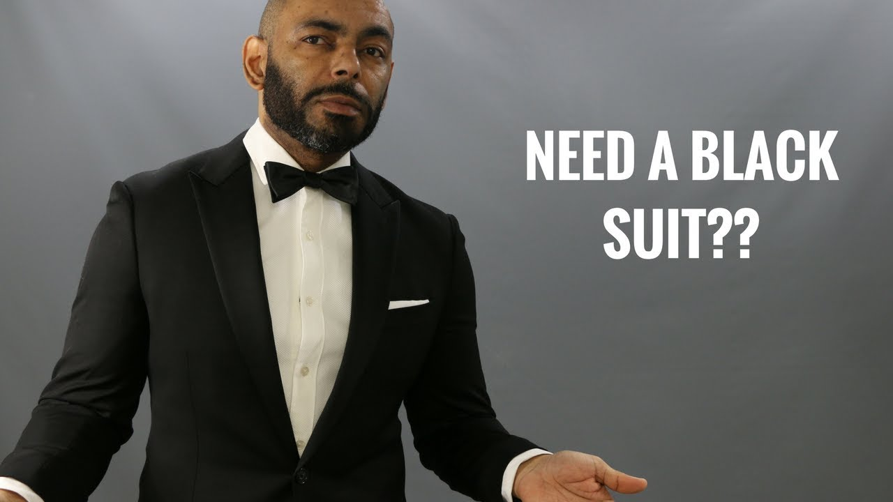 How And When To Wear A Black Suit Do You Need A Black Suit  Pros And Cons  Of Black Suits. The Style O.G. 801ef414c