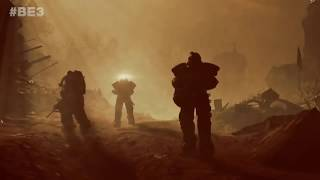 Fallout 76  E3 2018 PS4 7 MINUTES GAMEPLAY trailer
