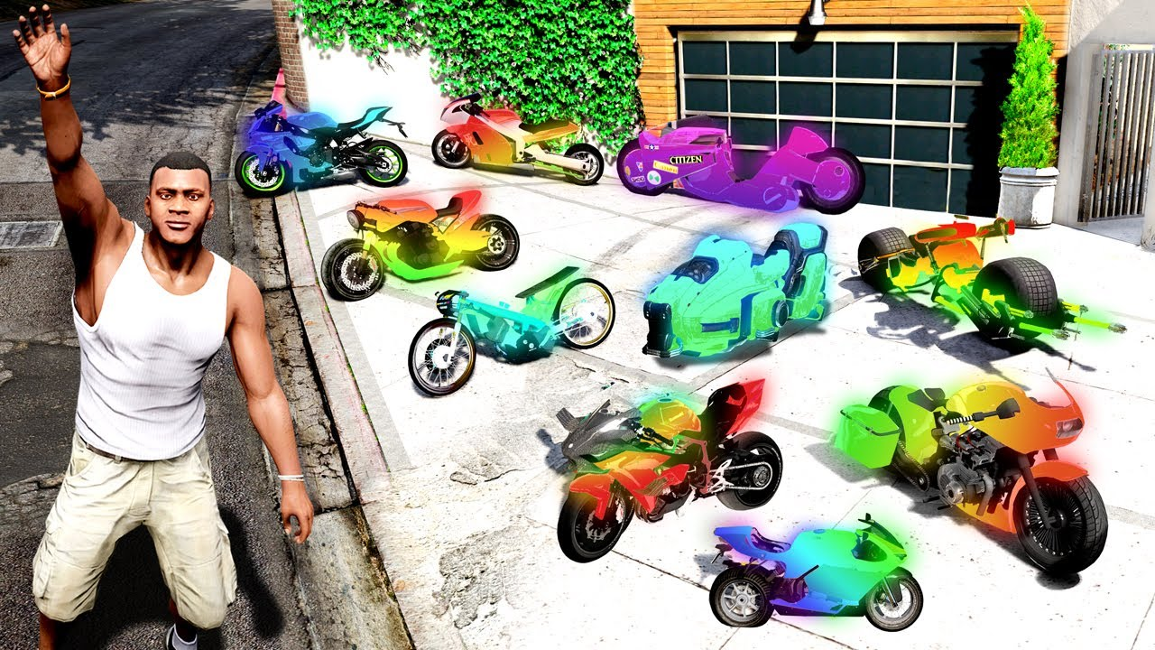 Collecting ENCHANTED SUPER BIKES in GTA 5!
