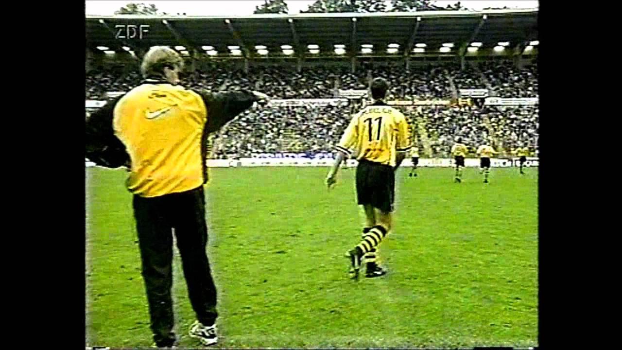 1. FC Saarbrücken Borussia Dortmund DFB-Pokal 1998