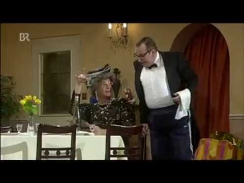 Essn für ann (Dinner for One auf fränkisch) Heissmann und Rassau