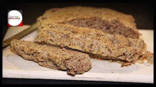 Безуглеводный  хлеб / Low Carb / Хлеб без муки / Вкусный как настоящий