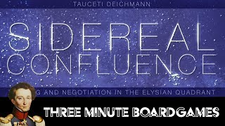Sidereal Confluence in about 3 minutes