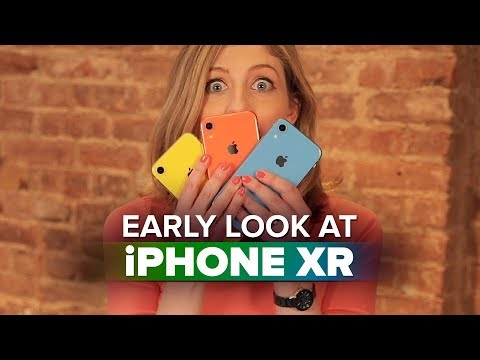 iPhone XR hands-on: An early look at Apple's colorful phones