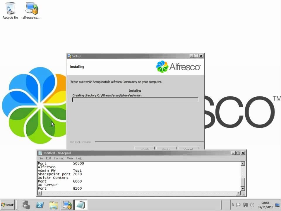 alfresco 3.4