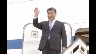 Chinese President Arrives in Philippines for State Visit