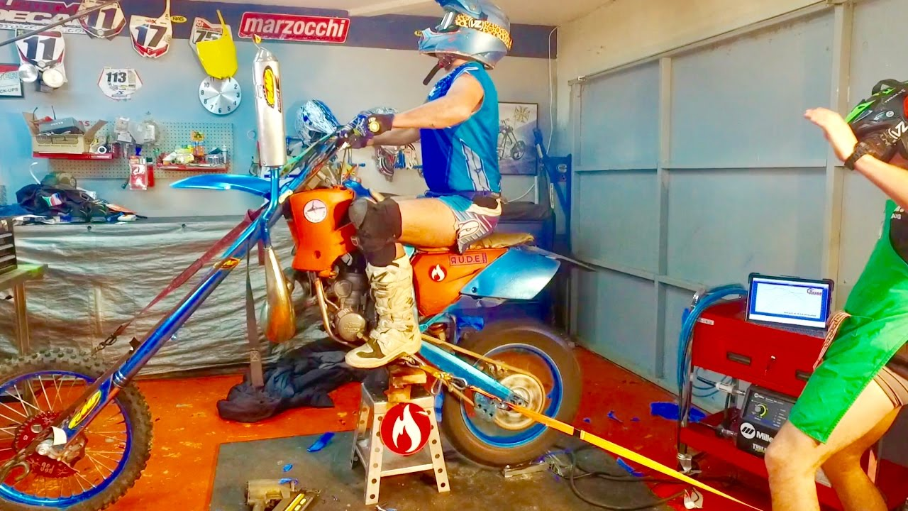 1000 HP CHOPPER DIRT BIKE DYNO TUNED