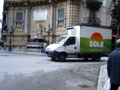 Quattro canti Palermo Italy