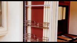 Barker Cabinets Pullout Spice Rack Hardware