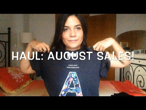 HAUL: August Sales! Hondos Center,H&M, Zara, Sephora,Mac | PepiMary80