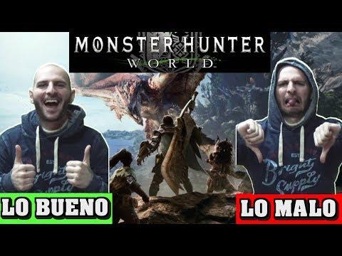 ¡¡¡LO BUENO Y LO MALO DE MONSTER HUNTER WORLD!!! - Sasel - Análisis