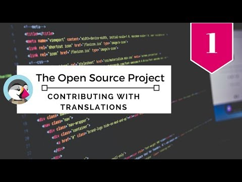 The Open Source Project: Contributing with translations