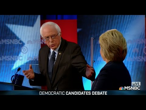 Fifth Democratic Presidential Debate | Bernie Sanders