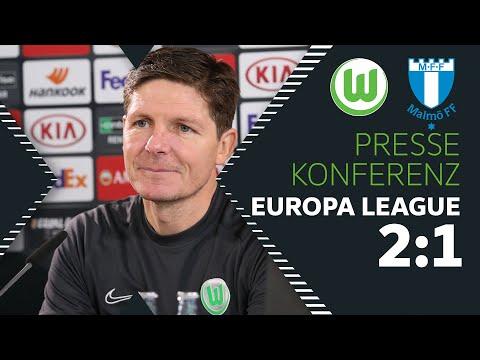 Pressekonferenz mit Oliver Glasner nach VfL Wolfsburg - Malmö FF | Europa League