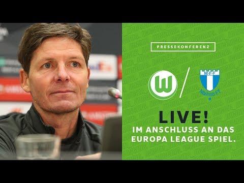 LIVE 🔴 Pressekonferenz mit Oliver Glasner nach VfL Wolfsburg - Malmö FF | Europa League