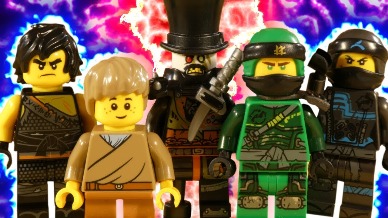 LEGO NINJAGO HUNTED PART 2 - RESCUE FROM THE DRAGON PIT