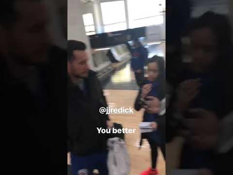 J.J Redick Trust The Process (J.Embiid Instagram Story)