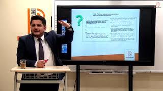 124)Hakkı ŞAHİN - Diyalog Soru Çözüm Yöntemleri ve Çıkmış Soruların Çözümü (YDS) 2020