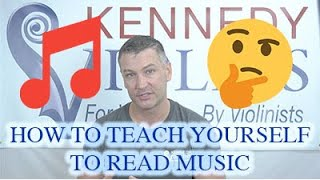 How to Teach Yourself to Read Music
